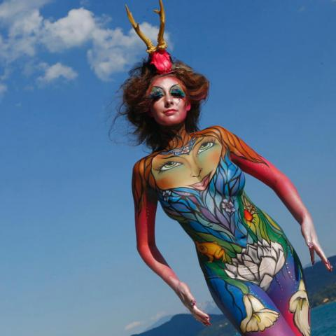 Attend World Bodypainting Festival Austria